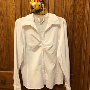 Talbots stretch blouse